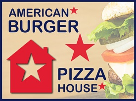 American Burger & Pizza House in Augsburg